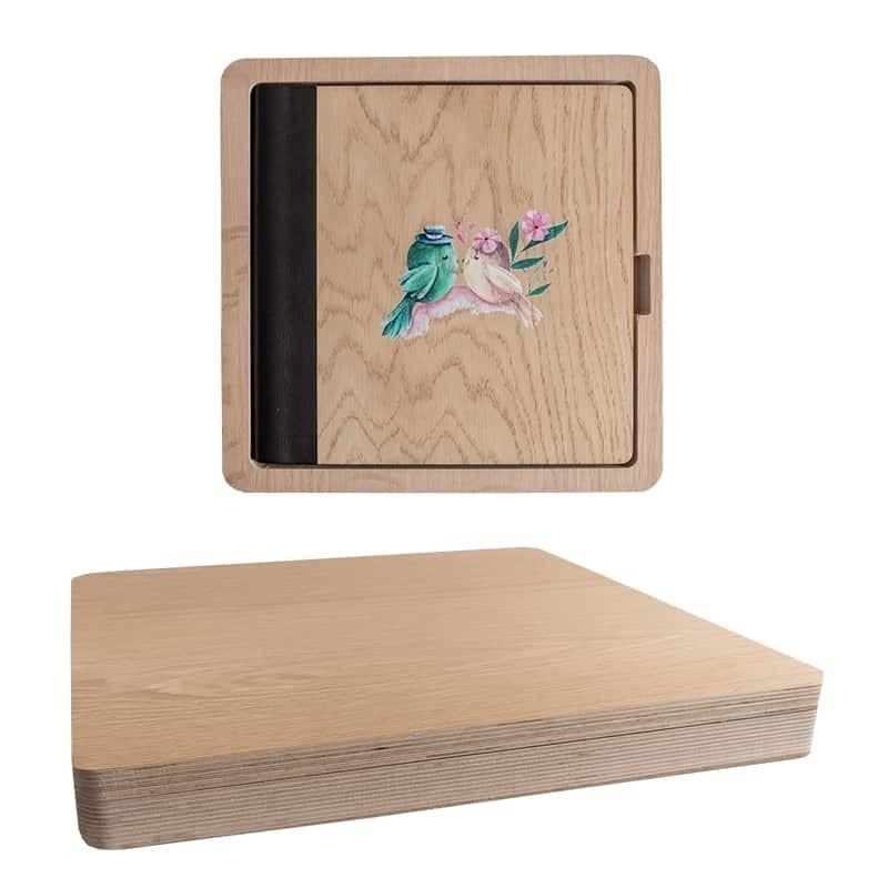 Wood Box Vertical