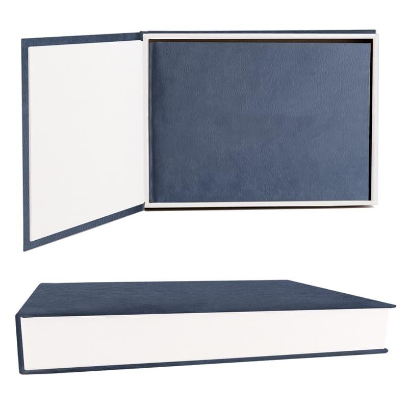 Leather Matted Box Quadrada
