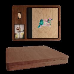 Wood Box Quadrada