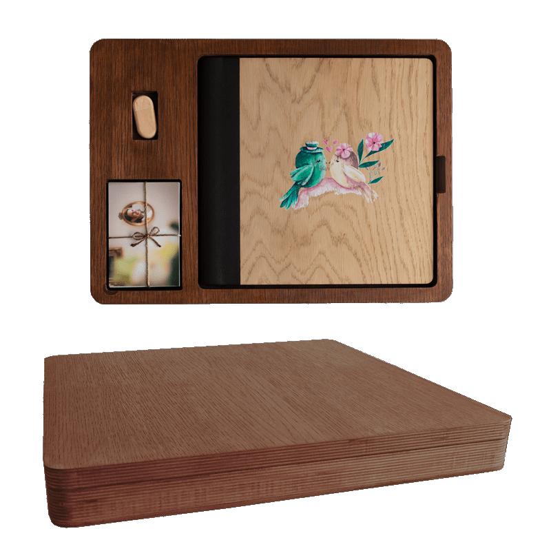Wood Box Cuadrada
