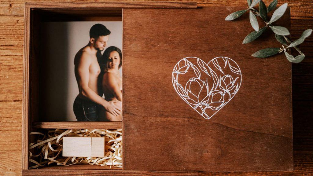 Print Box para Preservar Fotografias